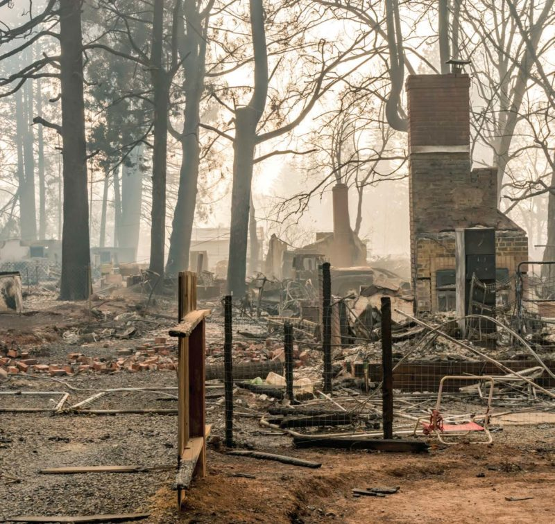California's 2018 Camp Fire burned at rate of a football field every second.