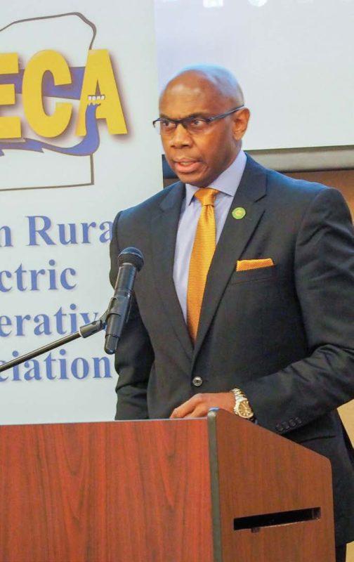 NRECA President Curtis Wynn