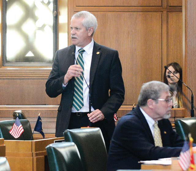 Rep. Mark Johnson— here in the Oregon Legislature—spoke at the ORECA midyear meeting about the justconcluded Legislative Assembly.