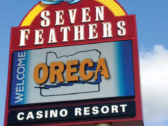 This July, Seven Feathers Casino Resort hosted the Oregon Rural Electric Cooperative Association's summer meeting. Photo by Ted Case